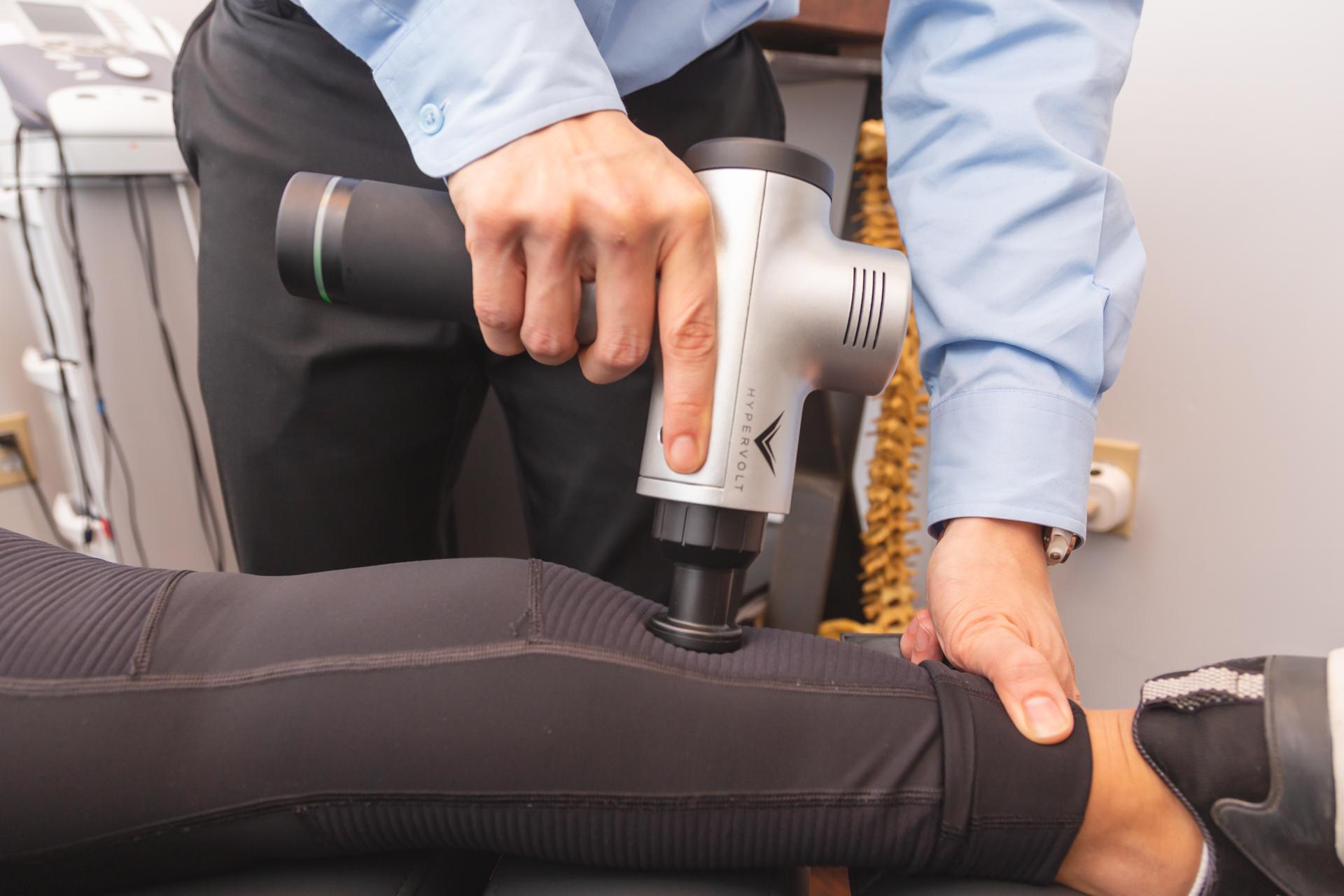 ReNu Chiropractic Health Patient Treatment